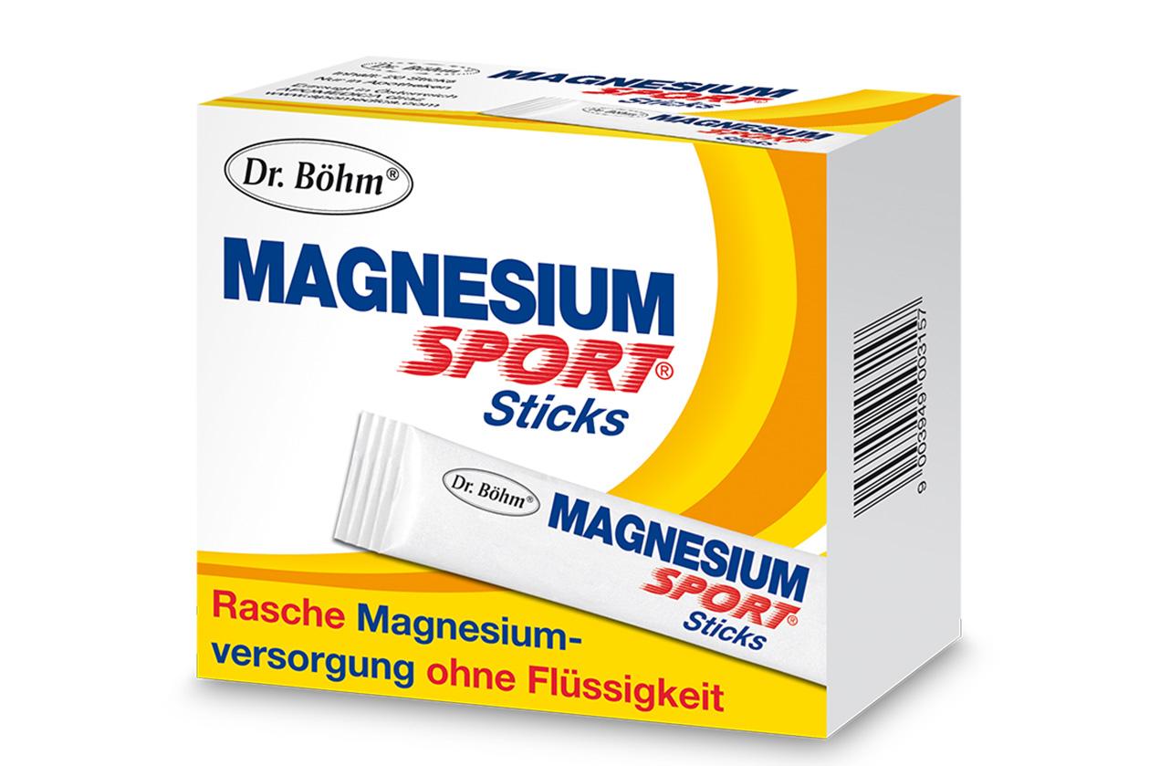 Magnesium Stick - Packung Dr. Böhm®