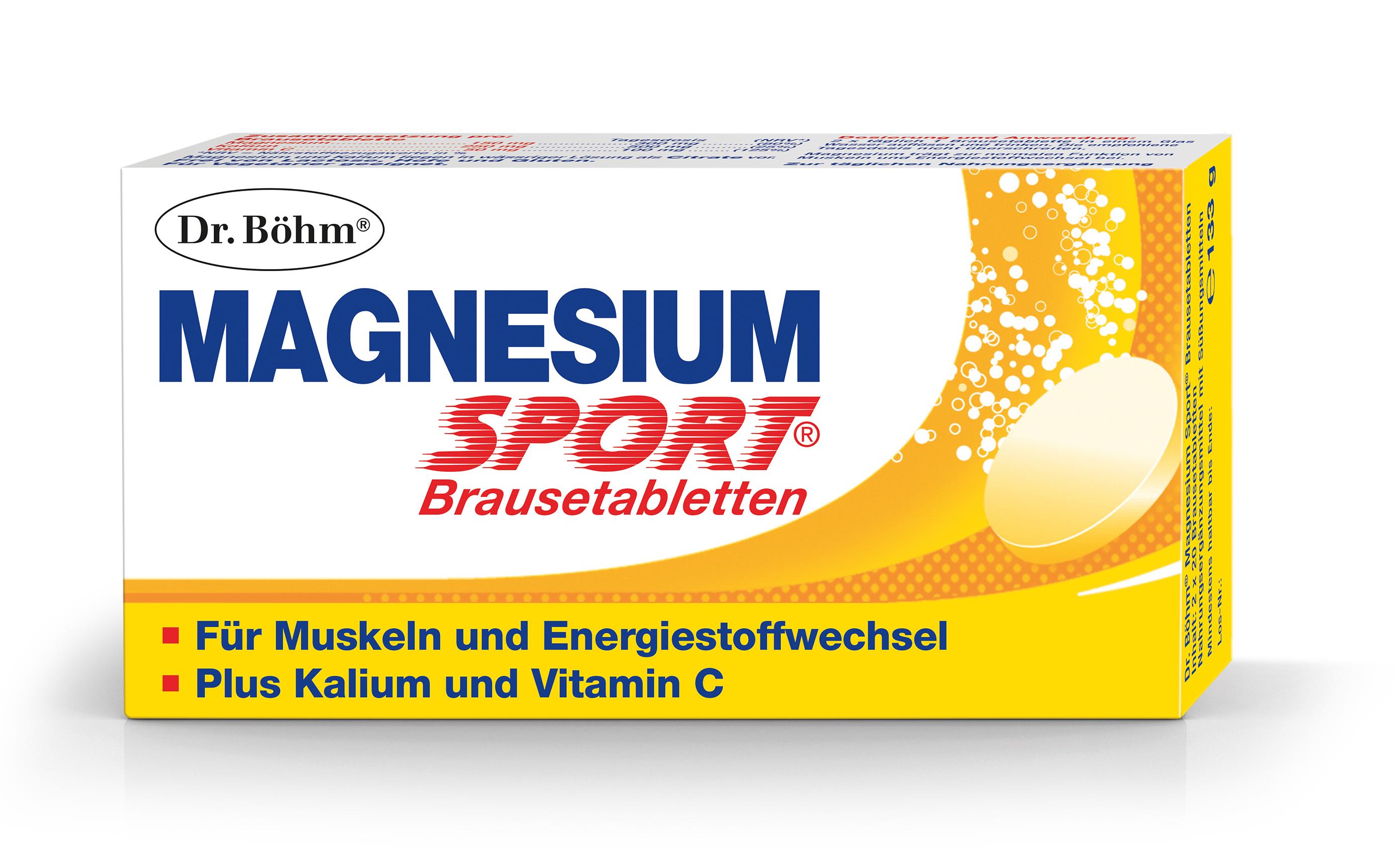 Magnesium Brausetabletten - Packung Dr. Böhm®