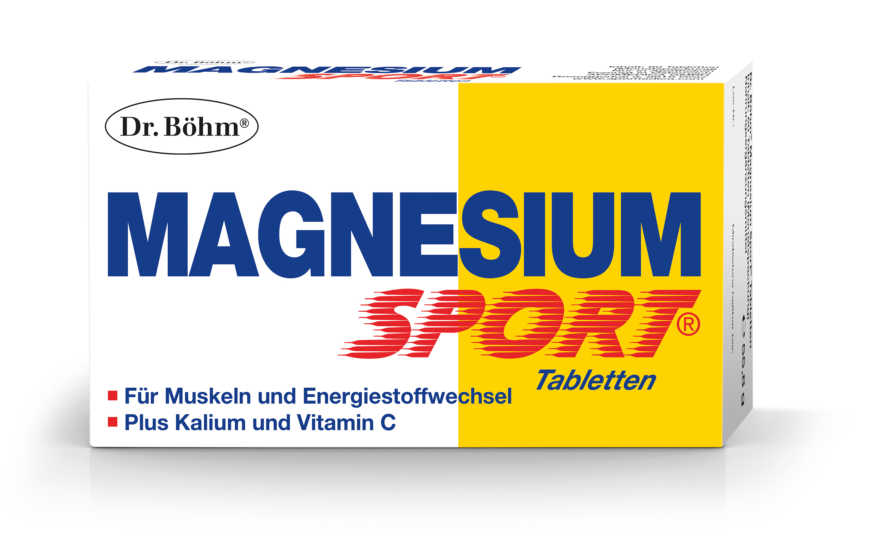 Magnesium Tabletten - Packung Dr. Böhm®