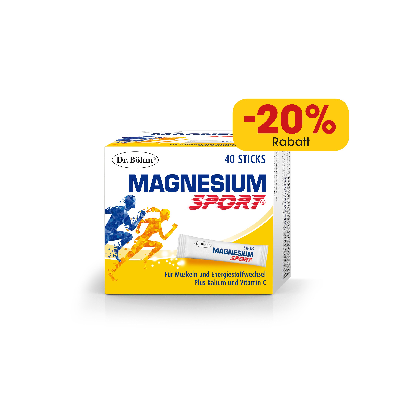 Dr. Böhm® Magnesium Sport® Sticks